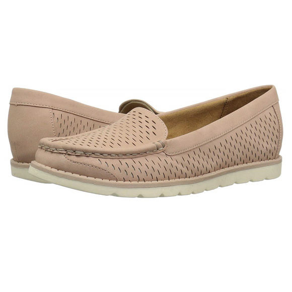 e0feab612e8 New Womens Natural Sole Isla Perforated Loafer 9.5